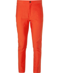 Pantalon de costume orange Acne Studios