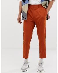 Pantalon de costume orange ASOS DESIGN