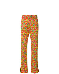 Pantalon de costume orange MSGM