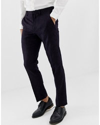 Pantalon de costume pourpre foncé Burton Menswear