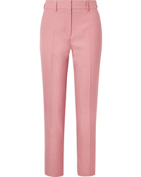 Pantalon de costume rose Burberry