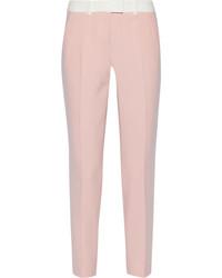 Pantalon de costume rose Fendi
