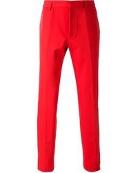 Pantalon de costume rouge Calvin Klein