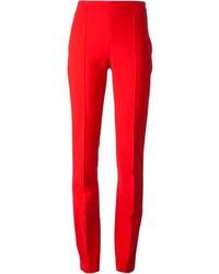 Pantalon de costume rouge Chloé