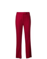 Pantalon de costume rouge John Galliano Vintage