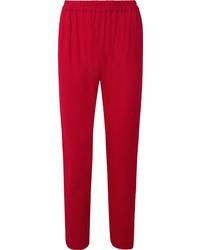 Pantalon de costume rouge Mansur Gavriel