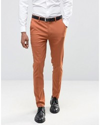 Pantalon de costume tabac Asos