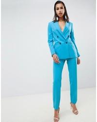 Pantalon de costume turquoise ASOS DESIGN