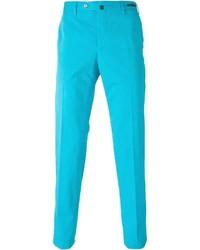 Pantalon de costume turquoise