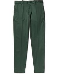 Pantalon de costume vert foncé Acne Studios