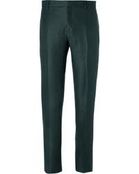 Pantalon de costume vert foncé Burberry