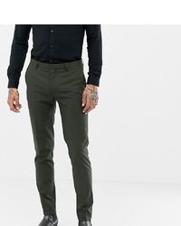 Pantalon de costume vert foncé Heart & Dagger