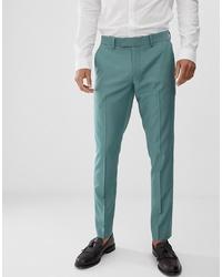 Pantalon de costume vert menthe Farah Smart