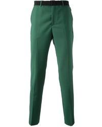 Pantalon de costume vert menthe Kris Van Assche