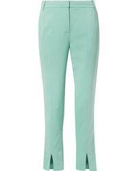 Pantalon de costume vert menthe Tibi