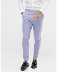 Pantalon de costume violet clair ASOS DESIGN
