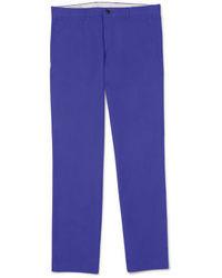 Pantalon de costume violet