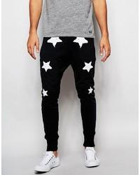 Pantalon de jogging à étoiles noir True Religion