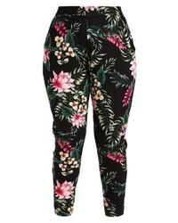 Pantalon de jogging à fleurs multicolore Dorothy Perkins