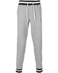 Pantalon de jogging à rayures horizontales gris Polo Ralph Lauren