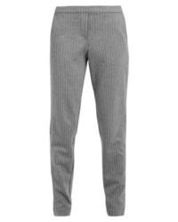 Pantalon de jogging à rayures verticales gris Esprit