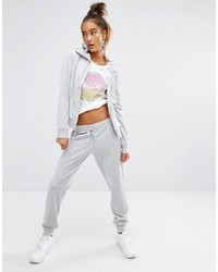 Pantalon de jogging argenté Juicy Couture