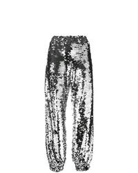 Pantalon de jogging argenté MSGM