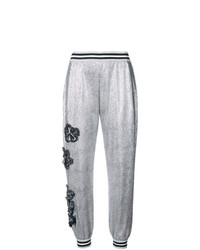 Pantalon de jogging argenté Patbo