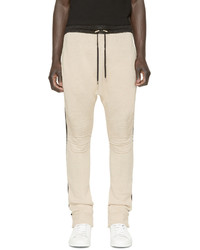 Pantalon de jogging beige Balmain