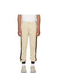 Pantalon de jogging beige Gucci