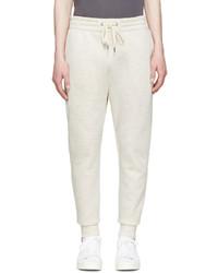 Pantalon de jogging beige Helmut Lang