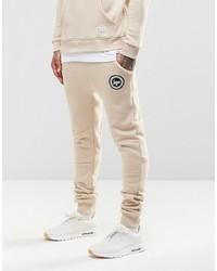 Pantalon de jogging beige Hype
