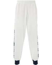 Pantalon de jogging blanc Kappa
