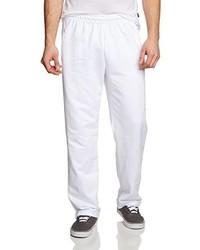 Pantalon de jogging blanc Trigema
