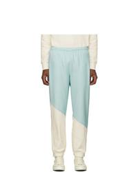 Pantalon de jogging bleu clair Lacoste