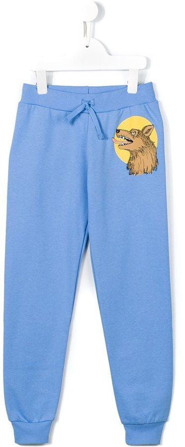Pantalon de jogging bleu clair Mini Rodini