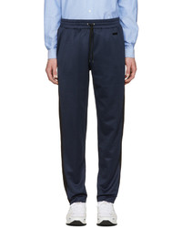 Pantalon de jogging bleu marine AMI Alexandre Mattiussi