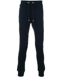 Pantalon de jogging bleu marine Balmain