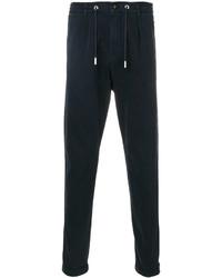 Pantalon de jogging bleu marine Eleventy