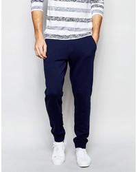 Pantalon de jogging bleu marine Esprit