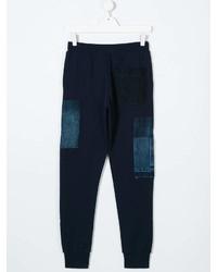 Pantalon de jogging bleu marine Diesel