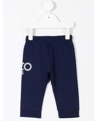 Pantalon de jogging bleu marine Kenzo