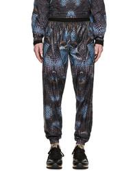 Pantalon de jogging bleu marine Marcelo Burlon County of Milan