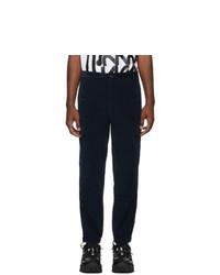 Pantalon de jogging bleu marine Moncler Genius