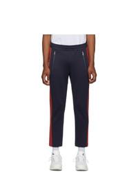 Pantalon de jogging bleu marine Moncler