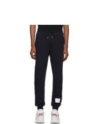 Pantalon de jogging bleu marine Thom Browne