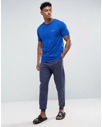 Pantalon de jogging bleu Calvin Klein