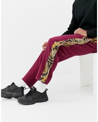 Pantalon de jogging bordeaux ASOS DESIGN