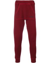 Pantalon de jogging bordeaux DSQUARED2