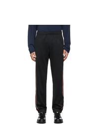 Pantalon de jogging brodé noir Gucci